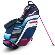 Callaway Golf Fusion 14 Stand Bag - Navy-White-Pink