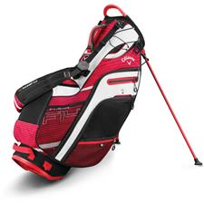Callaway Golf Fusion 14 Stand Bag - Red-Black-White