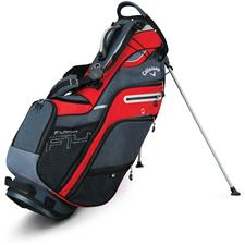 Callaway Golf Fusion 14 Stand Bag - Red-Titanium-Silver