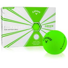 Callaway Golf Supersoft Matte Green Personalized Golf Balls