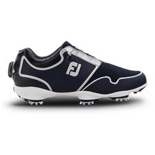 FootJoy Navy-Silver FJ Sport TF BOA Golf Shoes for Women