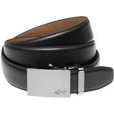 Greg Norman Cut-to-Length Leather Belt - Black - Size 32-44