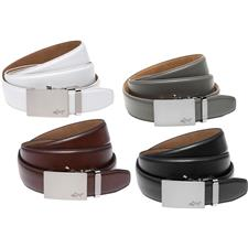 Greg Norman Cut-to-Length Leather Belt