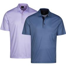 Greg Norman Men's ML75 Foulard Print Polo