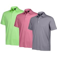 Greg Norman Large Protek ML75 Microlux 2 Below Solid Polo