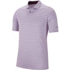 Nike Lilac Mist-Pure-Lilac Mist Dry Vapor Stripe Polo