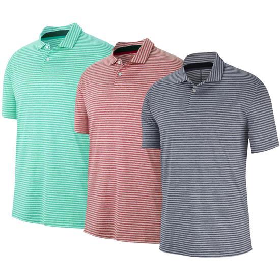 Nike Men's TW Vapor Dry Stripe Polo