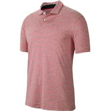 Nike Gym Red TW Vapor Dry Stripe Polo