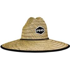 PING Men's Greenskeeper Hat - Straw - One Size Fits Most