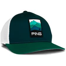 PING Men's Mountain Patch Hat - Forest