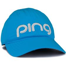 PING Performance Personalized Hat for Women - Sky Blue-Grey