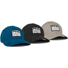 PING Personalized Vintage Patch Hat