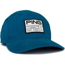 PING Men's Vintage Patch Personalized Hat - Turquoise