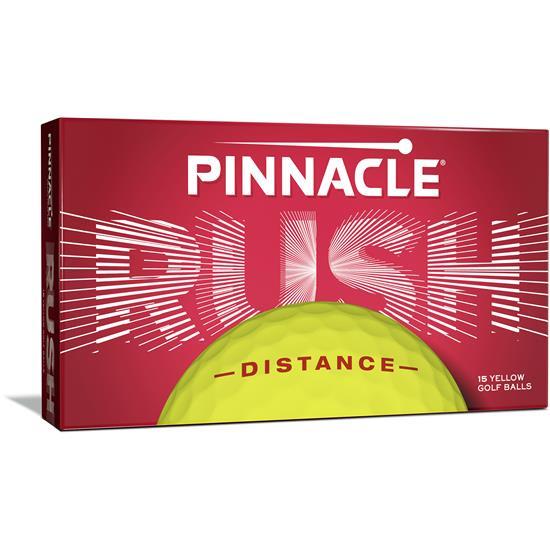 Pinnacle Rush Yellow Golf Balls - 15 Pack