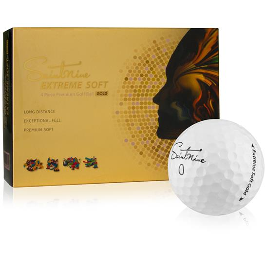 Saintnine Extreme Soft Gold Golf Balls