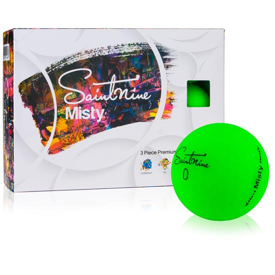 Saintnine Misty Green Golf Balls