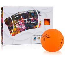 Saintnine Misty Orange ID-Align Golf Balls
