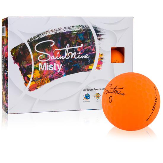Saintnine Misty Orange Golf Balls