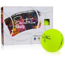 Saintnine Misty Yellow ID-Align Golf Balls