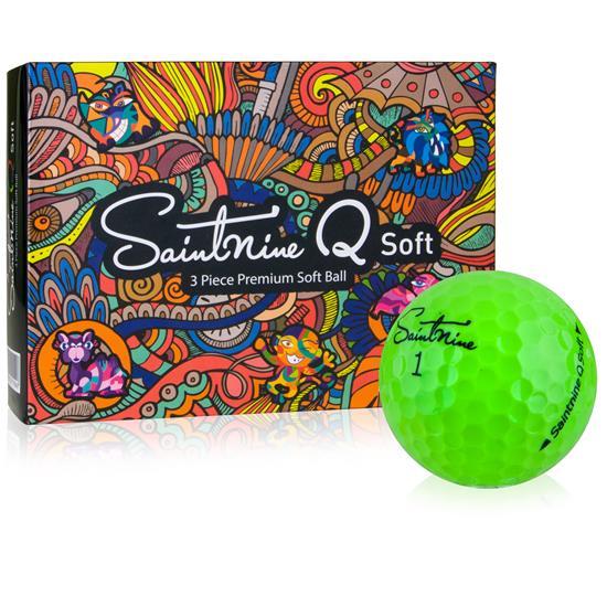 Saintnine Q Soft Green Golf Balls