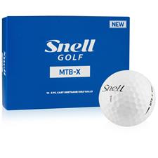 Snell MTB-X Personalized Golf Balls