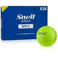 Snell MTB-X Yellow Golf Balls