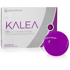 Taylor Made Custom Logo Kalea Purple Golf Balls for Women