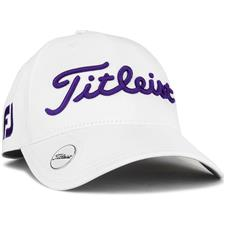 Titleist Tour Performance Ball Marker Hat for Women - White-Purple