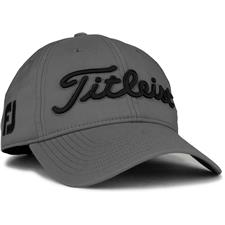 Titleist Men's Tour Performance Charcoal Collection Golf Hat - Charcoal-Black