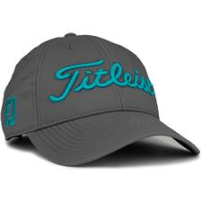 Titleist Men's Tour Performance Charcoal Collection Golf Hat - Charcoal-Teal