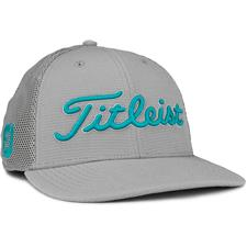 Titleist Men's Tour Snapback Mesh Golf Hat - Grey-Teal