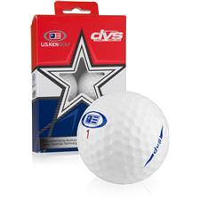 U.S. Kids DVS Novelty Golf Balls - 6 Pack