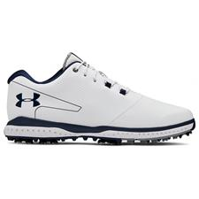 Under Armour White-Steel-Acadcemy Fade RST 2 Golf Shoe