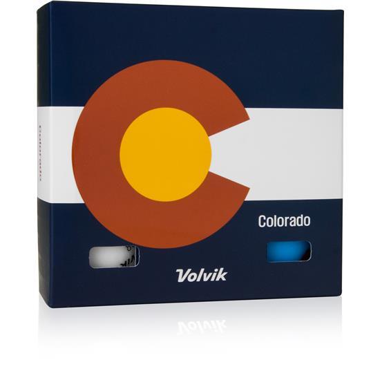 Volvik Vivid Golf Balls - Colorado 6-Ball Pack
