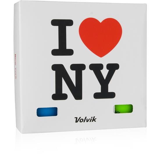Volvik Vivid Golf Balls - New York 6-Ball Pack