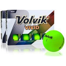 Volvik Vivid Matte Green Double Dozen Golf Balls