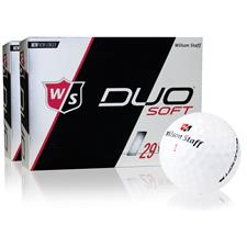 Wilson Staff Duo Soft Golf Balls - 2 Dozen