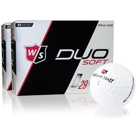 Wilson Staff Duo Soft Golf Balls - 2 Dozen
