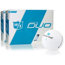 Wilson Staff Duo Soft Optix Golf Balls for Women - 2 Dozen