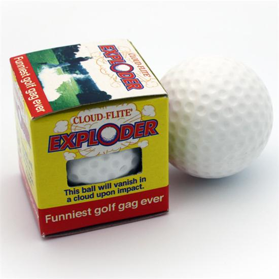 Hole In One The Exploder Exploding Golf Balls