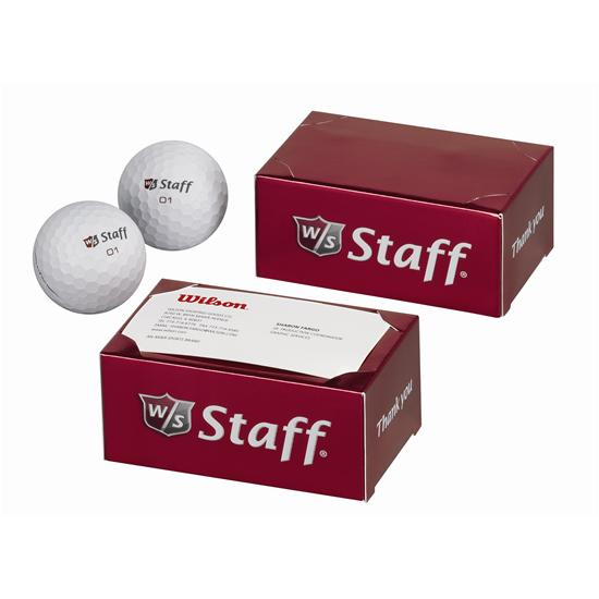 Wilson Staff 2 Ball Thank You Box