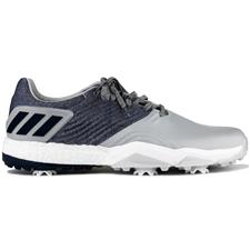 Adidas Grey-Collegiate Navy-Raw White Adipower 4orged Golf Shoes