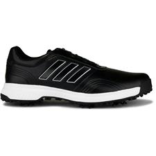 Adidas Core Black-Cloud White-Silver Metallic CP Traxion BOA Golf Shoes