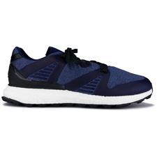 Adidas Blue-Core Black-Night Metallic Crossknit 3.0 Golf Shoes