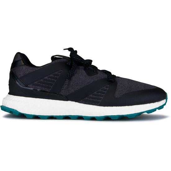 Adidas Men S Crossknit 3 0 Golf Shoes Core Black Grey Active Green 12 Medium Golfballs Com