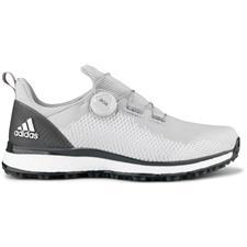 Adidas Grey-Cloud White-Grey Forgefiber BOA Golf Shoes