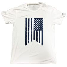 Adidas White Graphic T-Shirt