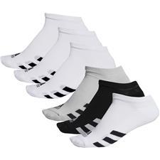 Adidas Men's No-Show Socks - 3 Pair Pack