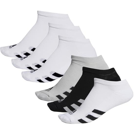 Adidas Men's No-Show Socks - 3 Pair Pack