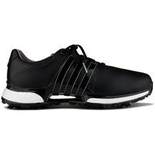 Adidas Core Black-Core Black-Silver Metallic Tour360 XT Golf Shoes